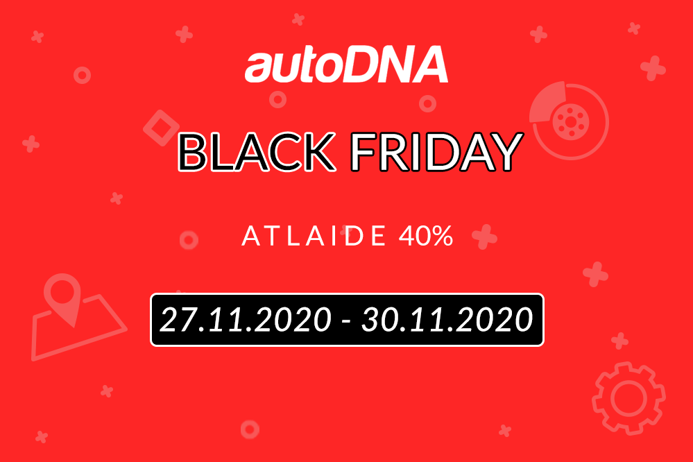 Black Friday atlaides 2020 autoDNA